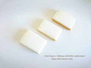 アイシングクッキーホワイト