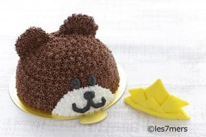 かぶとくまちゃんケーキ(メイン)